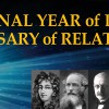 Year of Light and Centenary of Relativity